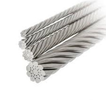 304 stainless steel wire rope 7x7 6.0mm