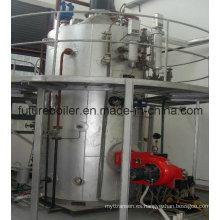 Caldera de vapor marino vertical de tubo de pasador