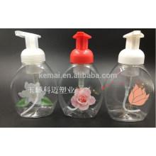 Top venda mais recente excelente garrafa de bomba de espuma de plástico de excelente qualidade