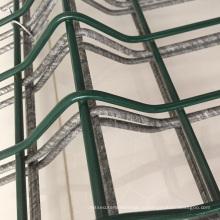 Напольное 3D изогнутая Загородка ячеистой сети/ сваренная Загородка сада Цена панелей