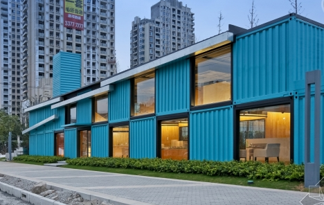 Container Building Design