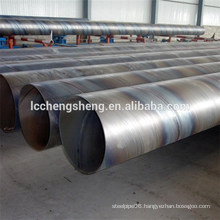 Black welded steel pipe ERW pipe from Liaocheng China
