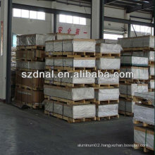 T4 6063 aluminium metal sheet/plate for marine