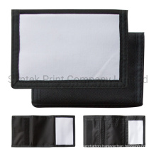 Black Sublimation Blank Small Wallet
