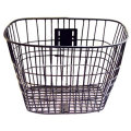 Wicker Woven Front Decorative Bicycle Basket