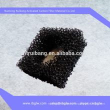supply honeycomb type filter material activated carbon sponge filter mesh