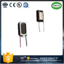 Mini Mobile Phone Aluminum Cone Speaker, Dynamic Speaker with Wire
