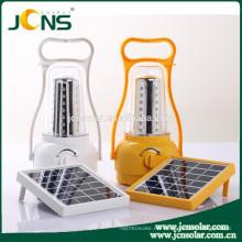 Lámpara de iluminación de la linterna solar llevado linterna de senderismo para camping