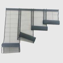 Türvorhang aus 4-teiligem Lamellen-Glasfasergewebe