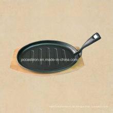 Gusseisen Mini Frypan mit Preseasoned Coating