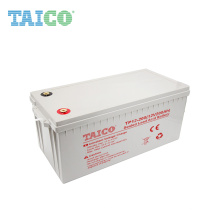 Rechargeable solar deep cycle 12v 200ah lead carbon battery