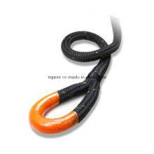 44мм Двойная веревочка оплетки, рекуперации кинетической лебедки Канат, нейлоновый трос лебедки