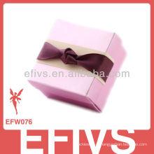 Novo Chegou Elegant Pink Wedding Favor Caixa feita na China