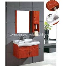 Gabinete de banheiro de madeira maciça / vaidade de banheiro de madeira maciça (KD-435)