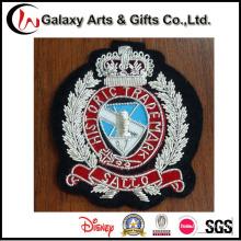 Remendos militares do emblema / bordado do bordado do ferro