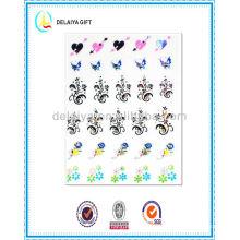 горячая мода блеск ногтей наклейки/ногтей продукт для девочек