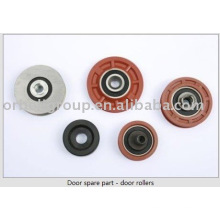 Door spare part - door rollers for elevator
