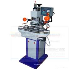 Carrousel pneumatique automatique de Gau-168c gravant en refief la machine chaude de presse d'estampillage