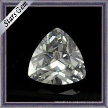 Vários Cor Trillion Corte Zircon Gemstone para Jóias