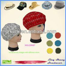 LSW07, 2014 moda chapéu de inverno Atacado lã de inverno personalizado tampas