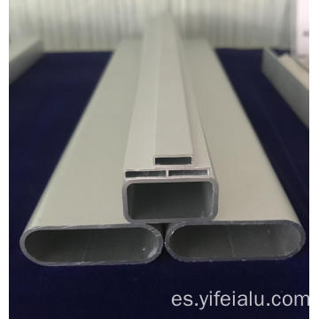 Tubo rectangular de extrusión para óptica y digital