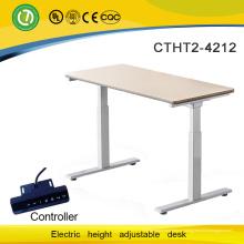 новое модное место для комфортной и здоровой компьютерный стол регулируемый электрический подъемный каркас офисный стол