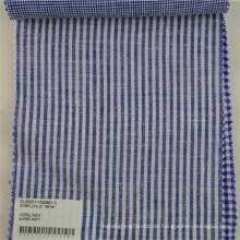 weicher Leinenstreifen-Druckstoff für Hemdkleidkleid
