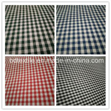 Tissu teint en fil de polyester (vérifier)