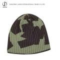 Sombrero hecho punto jacquard del invierno Sombrero hecho punto jacquard del telar jacquar del telar jacquar de la gorrita tejida