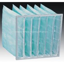 Máquina para fabricar bolsas de filtro de aire