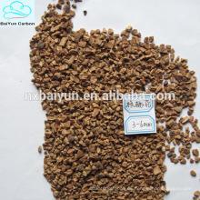 Cáscara de nogal de concha de diferente tamaño, filtro de cáscara para filtro de cáscara de nuez para eliminar las impurezas de aguas residuales