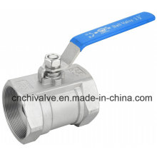 Ss304 Stainless Steel Thread End 1PC Ball Valve