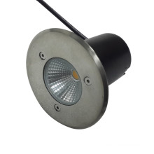 O diodo emissor de luz brilhante super do preço da fábrica Recessed a luz 5W subterrânea IP67