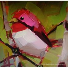 Pintura hermosa del pájaro