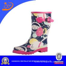 Mädchen New Style Fashion Gummi Kinder Regen Stiefel (SS-015)