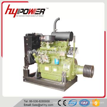 Motor generador de corriente continua de 12V con 1800 rpm