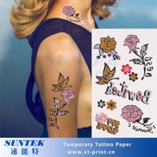 A4-Inkjet Temporary Tattoo Papier
