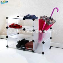 DIY Sapatos Rack Sapatos baratos Armazenamento Rack Detachable Wardrobe