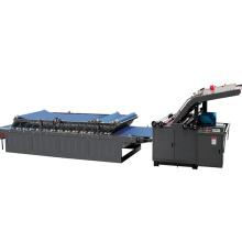 Corrugated cardboard box packaging Semi automatic flute laminator machine