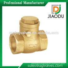 Female DN15 to DN50 1/2 3/4 1 11/4 11/2 2 inch sand blasting lift swing butterfly type brass check valve