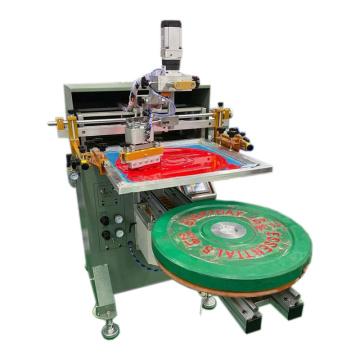 Weight Plates Printing Machine silk Screen printer Press