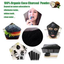 Formulario de polvo de carbón activado de bambú de grado alimenticio para productos de cuidado de la salud