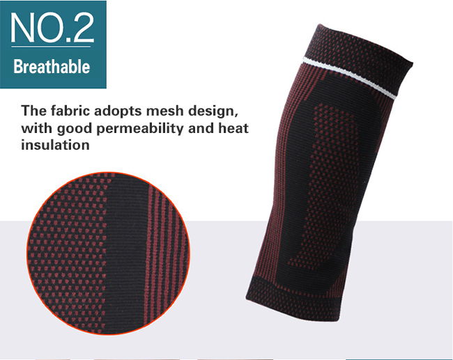 good permeability calf brace