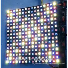 256 píxeles direccionable SK6812 WS2812B LED pantalla de matriz de puntos RGBW 5050 P10 16x16cm 8x32cm