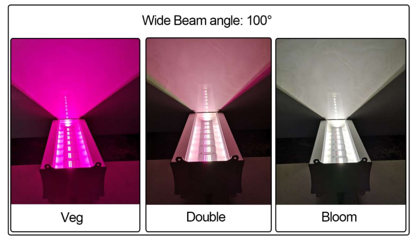 led grow light beam angle
