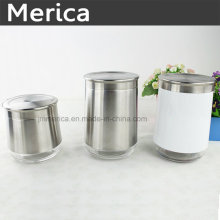 Tamaños diferentes Envase de acero inoxidable