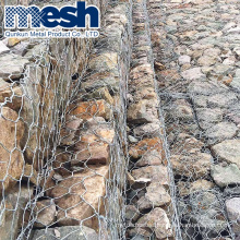 Hot Dipped Galvanized Gabion Box Square 0.5mm-14mm 5-10 Years in Stock
