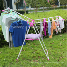 Colorful Clothes Hanger Drying Rack for The Outside