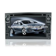 Sistema de navegação de carro de controle inteligente para OPEL Astra / Antara / Zafira / Vectra / Astra H com 3G / Bluetooth / IPOD / RMVB / DVD / RDS / MAP