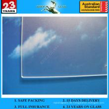 3.2-4mm Solarglas mit AS / NZS 2208
